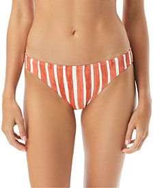 Vince Camuto Hammock Striped Bikini Bottoms