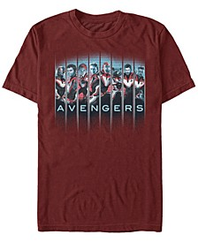 Men's Avengers Endgame Hero Panels, Short Sleeve T-shirt