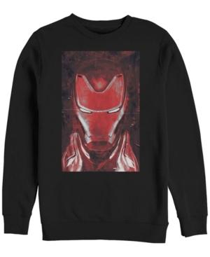 Men's Avengers Endgame Red Iron Man Poster
