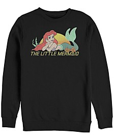 Men's Little Mermaid Ariel Sunset, Crewneck Fleece