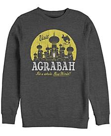 Men's Aladdin Visit Agrabah a Whole New World, Crewneck Fleece