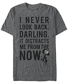 Pixar Men's Incredibles Edna Never Look Back, Short Sleeve T-Shirt