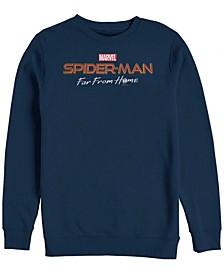 Men's Spider-Man Far From Home, Crewneck Fleece