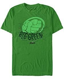 Men's Hulk Big Green Punch, Short Sleeve T-shirt