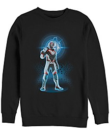 Men's Avengers Endgame Ant-man Armor Suit, Crewneck Fleece