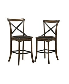 Shinta Padded Seat Counter Chair (Set of 2)