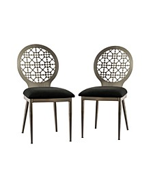 Stasia Padded Seat Side Chair- Set of 2