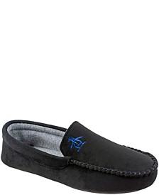 Men's Microsuede Venetian Moccasin Slippers with Memory Foam