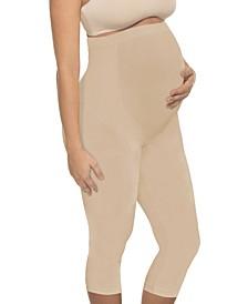 Women's Full Coverage Maternity Capri Legging