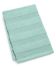 "CLOSEOUT! Velour Stripe Cotton 16"" x 26"" Hand Towel"