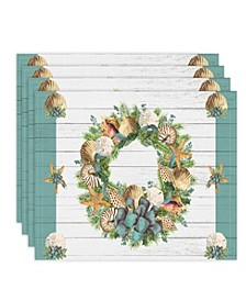 Christmas By The Sea Placemat - Set of 4
