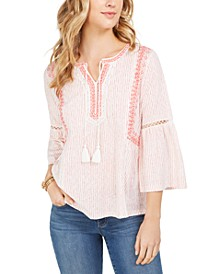 Printed Peasant Top, Created for Macy's