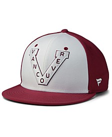 Vancouver Millionaires Tri-Color Throwback Snapback Cap