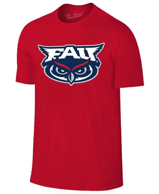 New Agenda Men's Florida Atlantic Owls Big Logo T-Shirt