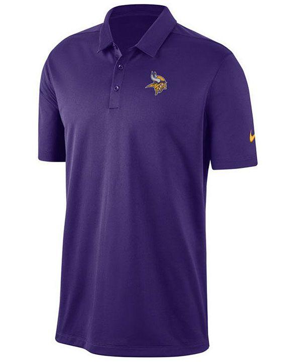 Nike Men's Minnesota Vikings Franchise Polo