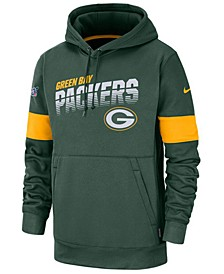 Men's Green Bay Packers Sideline Line of Scrimmage Therma-Fit Hoodie