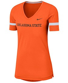 Women's Oklahoma State Cowboys Fan V-Neck T-Shirt