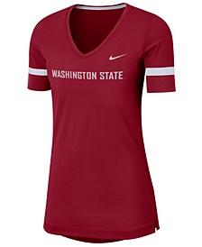 Women's Washington State Cougars Fan V-Neck T-Shirt