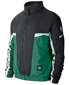 Men's Boston Celtics Courtside Tracksuit Jacket
