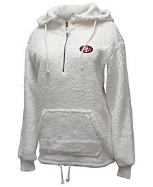 Women's San Francisco 49ers Sherpa Quarter-Zip Pullover