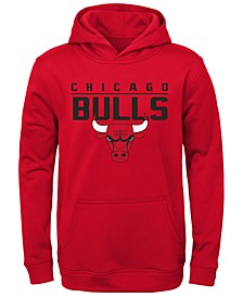 Big Boys Chicago Bulls Fleece Hoodie