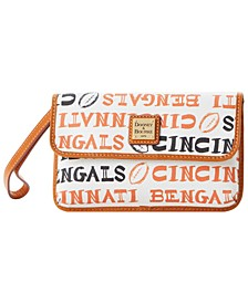 Cincinnati Bengals Doodle Milly Wristlet