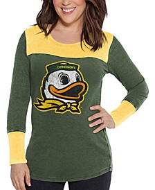Women's Oregon Ducks Thermal Long Sleeve T-Shirt