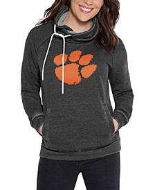 Women's Clemson Tigers Cowl Neck Sweatshirt