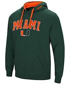 Men's Miami Hurricanes Arch Logo Hoodie