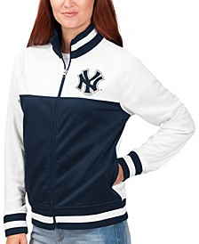 Women's New York Yankees Face Off Track Jacket