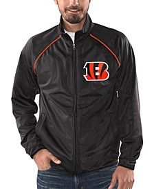 Men's Cincinnati Bengals Black Tracer Track Jacket