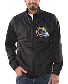 Men's Los Angeles Rams Black Tracer Track Jacket