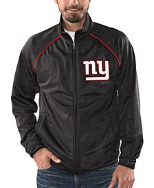 Men's New York Giants Black Tracer Track Jacket