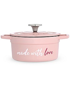 Made with Love 2-Qt. Enameled Cast Iron Dutch Oven, Created for Macy's