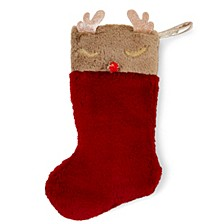 Reindeer Christmas Stocking, Online Only