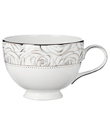 Monique Lhuillier Waterford Dinnerware, Sunday Rose Cup