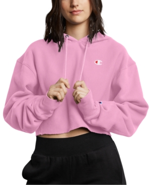 Champion Tops REVERSE WEAVE CROPPED HOODIE