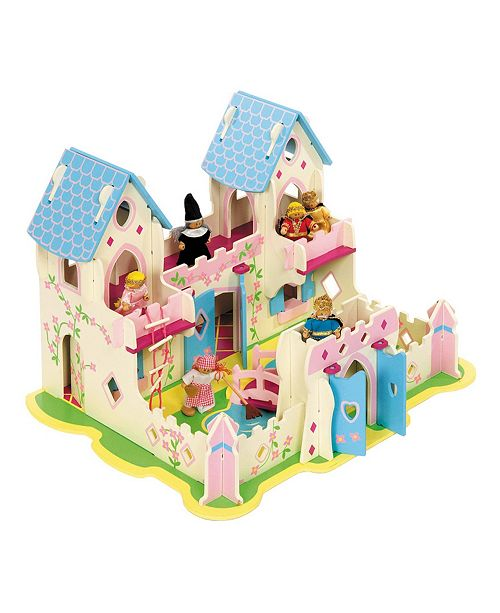 Bigjigs Toys Heritage Wooden Playset Princess Cottage