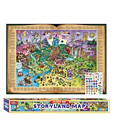 Storyland Map Pictorial Poster