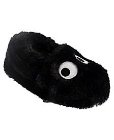 Little and Toddler Boys Monster Plush Slippers