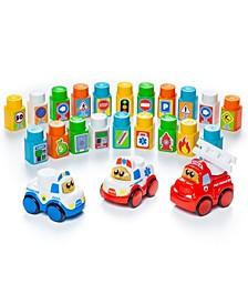 Playmat Block Set with 3 Cars