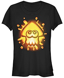 Nintendo Women's Splatoon Inkling Halloween Pumpkin Short Sleeve Tee Shirt