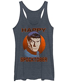 Star Trek Original Series Women's Spooktober Halloween Tri-Blend Tank Top