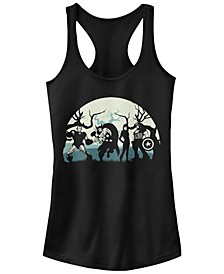 Marvel Women's Avengers Spooky Team Racerback Tank Top