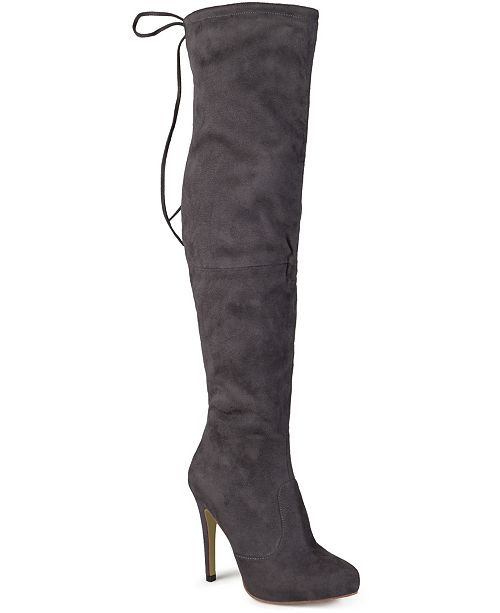 Journee Collection Women's Regular Calf Magic Boot