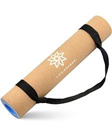 EkoSmart 5MM Cork Yoga Mat