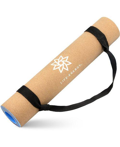 Life Energy EkoSmart 5MM Cork Yoga Mat