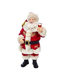 10.5-Inch Fabriché™ Wine Tasting Santa