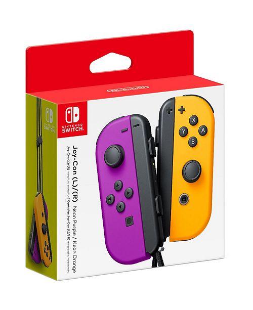 Nintendo Switch Joy Con Set Orange/Neon Purple