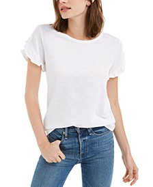 Ruffled-Sleeve Top, Created for Macy's